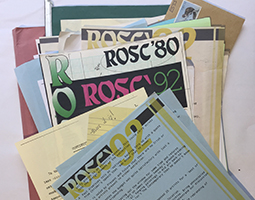 ROSC ephemera files at NIVAL